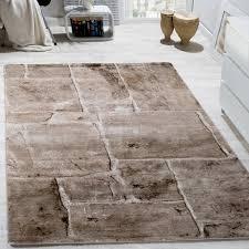designer teppiche designer teppich steinoptik braun design teppiche