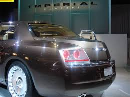 chrysler imperial concept 2006 detroit auto show naias north american international auto show
