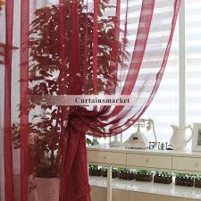 Sheer Maroon Curtains Great Burgundy Color Curtains Decor With Color Contemporary Sheer
