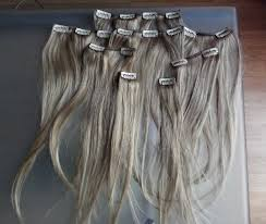 grey hair extensions foxy hair extensions steph style