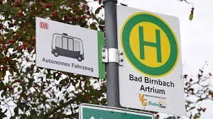 Bad Birnbach Therme In Bad Birnbach Fährt Ein Bus Ohne Fahrer Herum Aktuell