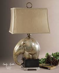 decor black elephant lamp with cute shade for home lighting ideas