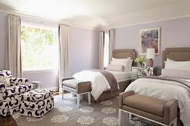 purple and brown bedroom purple and brown bedroom with mirrored nightstand transitional