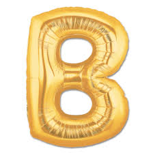 gold letter balloons letter b gold foil balloon 40 inch inflated balloon shop nyc