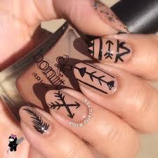 tribal arrow nails the crafty ninja