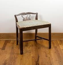 vintage low back vanity chair ebth