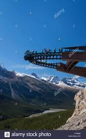Floored by Glacier Skywalk Glass Floored Observation Platform Looking Over