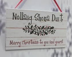 merry sign decoration gift ireland