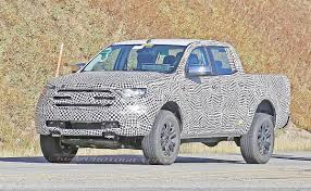 2019 ford ranger interior spied during testing