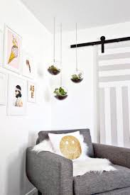 glass hanging planter with chain hanging terrarium decorative
