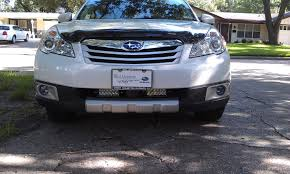 subaru off road mounting off road lights on stock crossbars subaru outback