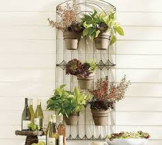 metal wall mounted planters interesting ideas for home
