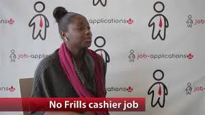 dollarama job application no frills cashier job youtube