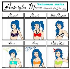 Meme Hairstyles - hairstyles meme oc by fairiestar on deviantart