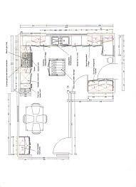 floor plan of different kitchen collection and plans images finest