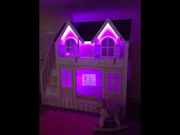 Purple Bunk Beds Bunk Beds With Led Lights