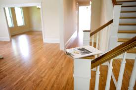 Putting Laminate Flooring On Stairs The Correct Direction For Laying Hardwood Floors Home Guides