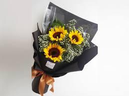 bouquet of sunflowers sunflower bouquet 11 malaysia online florist florist in kl