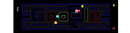 doodle pacman pac s 30th anniversary gets a doodle metro news