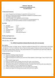 format for resumes different kinds of resumes different resume types different resume
