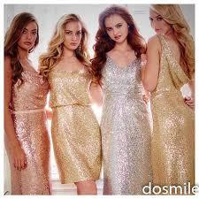 silver wedding dresses for brides sparkly gold silver gold v neck bridesmaid dresses