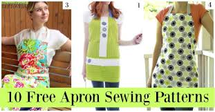 10 free apron patterns premeditated leftovers