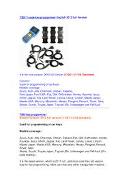toyota lexus honda acura nissan infiniti mazda adkautoscan t300 t code key programmer