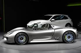 porsche concept cars new porsche 918 spyder sports plug in hybrid concept revealed in