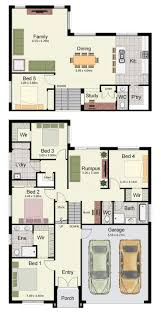 31 best reverse living house plans images on pinterest floor
