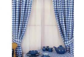 Gingham Curtains Blue Blue Gingham Curtains Furniture Ideas Deltaangelgroup