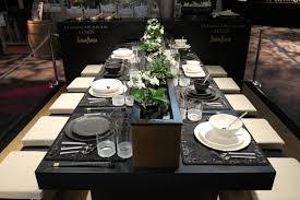 modern table settings modern dining table setting ideas ilashome