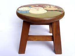 santa stool kids stool sitting stool toddler stool wood stool wood