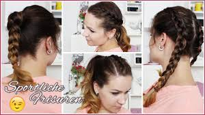 Frisuren F Lange Haare In 5 Minuten by 4 Sportliche Frisuren Unter 5 Minuten