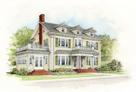 Dutch Colonial Revival House Plans by Colonial Revival Revealed Old House Restoration Products
