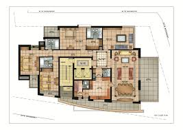 modern residential architecture floor plans home design