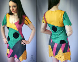 Halloween Costumes Nightmare Christmas Sally Dress Etsy