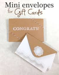 make a gift card 365 designs how to make mini envelopes for gift cards using