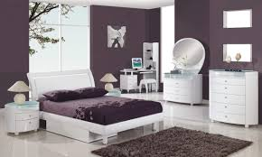 Modern White And Silver Bedroom Bedroom Furniture What Color For Bedroom Purple Bedroom