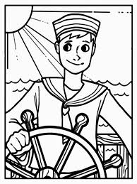 9 images of navy sailor coloring page military coloring pages to
