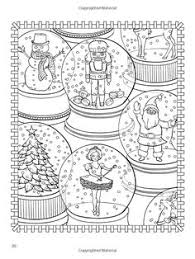 amazon christmasscapes dover holiday coloring book