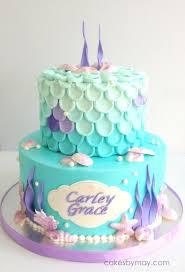 mermaid cake ideas mermaid buttercream covered cake cakecentral