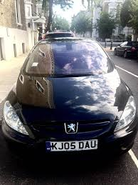 black peugeot peugeot 307 sports black in earls court london gumtree