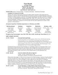 Fresher Resume For Java Developer Resume Php Developer Resume Sample