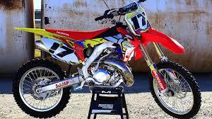 honda motocross racing ultimate honda cr500 af 2 stroke build shaken not stirred