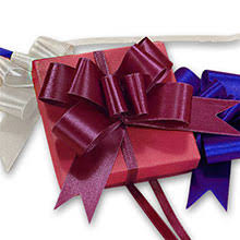 shrink wrap bags with pull bows butterfly pull bows shop with paper mart today