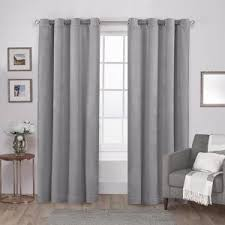 Blush Pink Curtains Velvet Blush Pink Heavyweight Grommet Top Window Curtain Eh8194 07