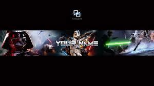 star wars battlefront banner template direct download youtube