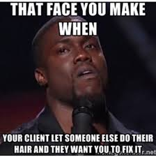 Cosmetology Meme - on my life this happens oh my hair pinterest hairstylists