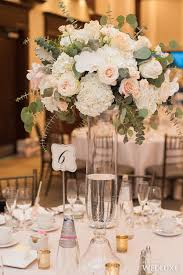 Trumpet Vase Wedding Centerpieces by Tall Hydrangea Centerpieces For Weddings Tall Centerpiece With