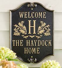 monogram plaques 56 best personalized accents gifts images on hearth